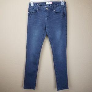 Cabi Gray Blue Slim Boyfriend Jeans sz 2